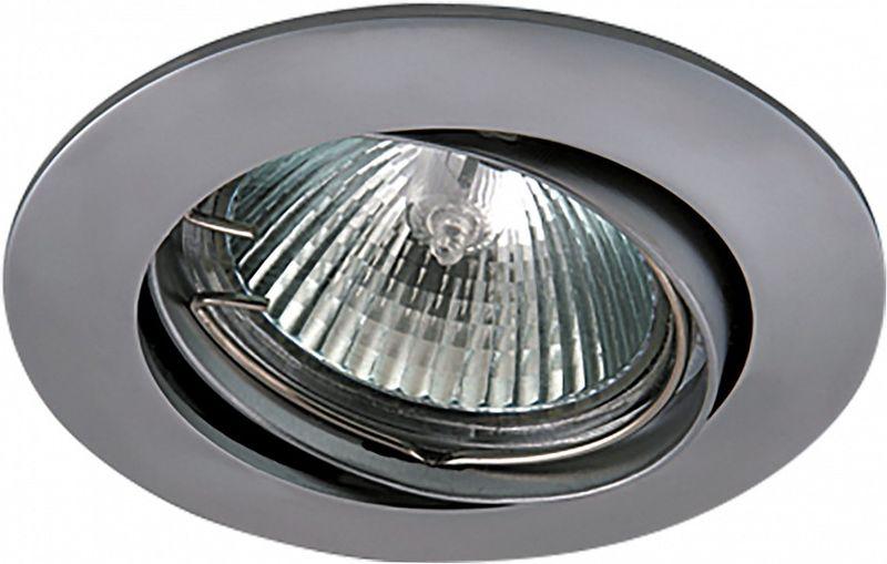 Светильник встраиваемый Lightstar Lega HI, GU5.3, 50W. LS_011029LS_011029Светильник встраиваемый Lightstar Lega HI, GU5.3, 50W. LS_011029
