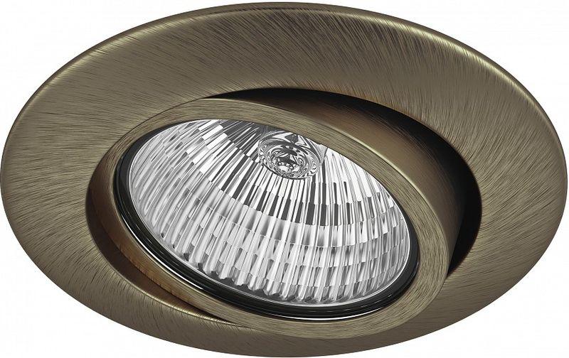 Светильник встраиваемый Lightstar Teso, GU5.3, 50W. LS_011081LS_011081Светильник встраиваемый Lightstar Teso, GU5.3, 50W. LS_011081