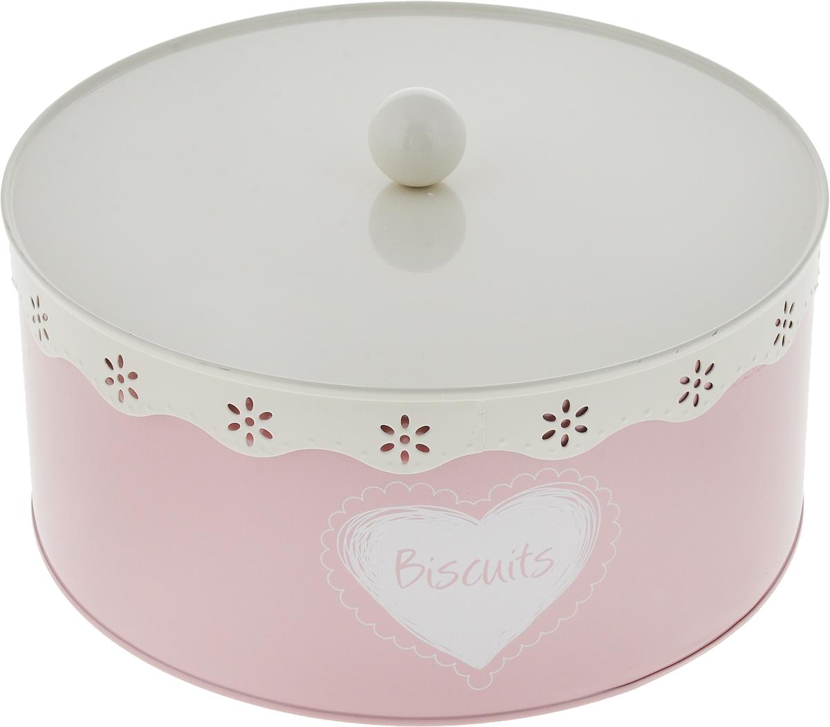 Банка для продуктов Zeller, с крышкой, цвет: молочный, бледно-розовый, диаметр 25 см19304_розовыйБанка для продуктов Zeller, выполненная из металла, позволит красиво и аккуратно хранитьпродукты на кухне. Банка имеет круглую форму, снабжена удобной крышкой с силиконовымуплотнителем. В такой банке удобно хранить различные печенья, конфеты, пирожные,сухофрукты, орехи и многое другое. Изделие защитит содержимое от проникновения влаги, пыли,насекомых. В такой банке ваши продукты дольше останутся свежими и вкусными.Банки для хранения продуктов - это не только полезно, но и красиво. Банка для продуктов Zellerстильно дополнит интерьер и станет полезным и практичным приобретением для вашей кухни. Диаметр дна банки: 25 см. Высота банки без учета крышки 11 см.