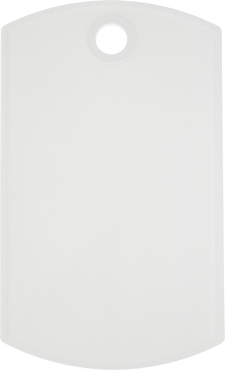 """Разделочная доска """"Axentia"""" выполнена из пластика и оснащена отверстием для подвешивания. Прочная структура пластика устойчива к механическим повреждениям. Доска с двухсторонним покрытием легко моется и не впитывает запахи.  Такая доска понравится любой хозяйке и будет отличным помощником на кухне. Можно мыть в посудомоечной машине."""