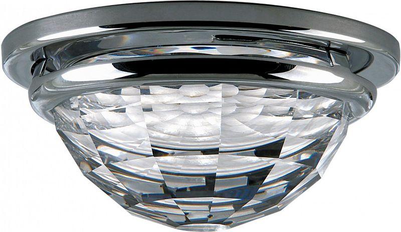Светильник встраиваемый Lightstar Diva, GU5.3, 35W. LS_030004LS_030004Светильник встраиваемый Lightstar Diva, GU5.3, 35W. LS_030004