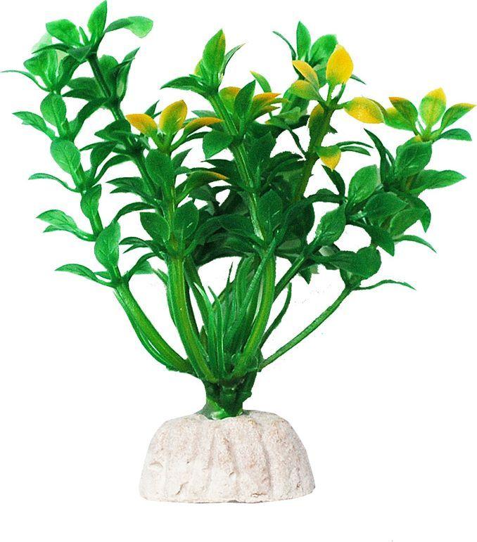Растение для аквариума Уют Гемиантус зелено-желтый, высота 10 см уют
