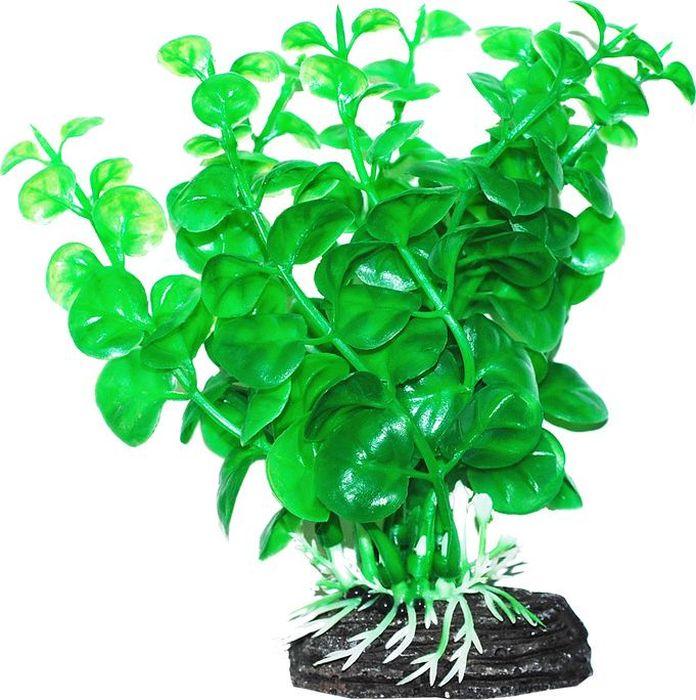 Растение для аквариума Уют Бакопа зеленая, высота 11 см interstep is vibe чехол для xiaomi redmi note 4 black