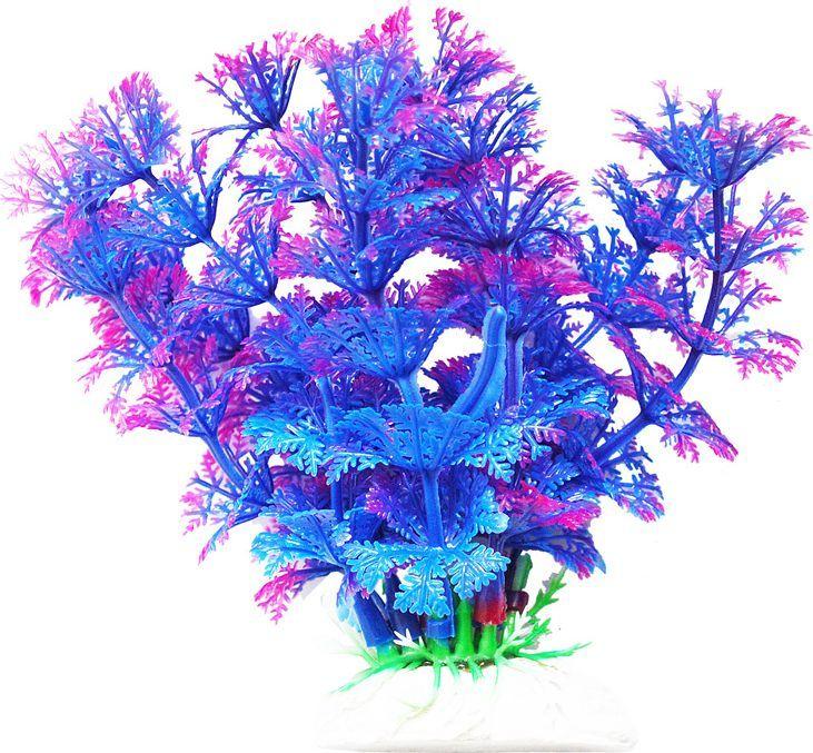 Растение для аквариума Уют Амбулия сине-фиолетовая, высота 11 смВК214Пластиковое растение для аквариума Уют  Амбулия сине-фиолетовая - отличный аксессуар, который украсит ваш домашний аквариум. Изготовлено из искусственных и полимерных материалов. Безопасно для рыб и других аквариумных обитателей.