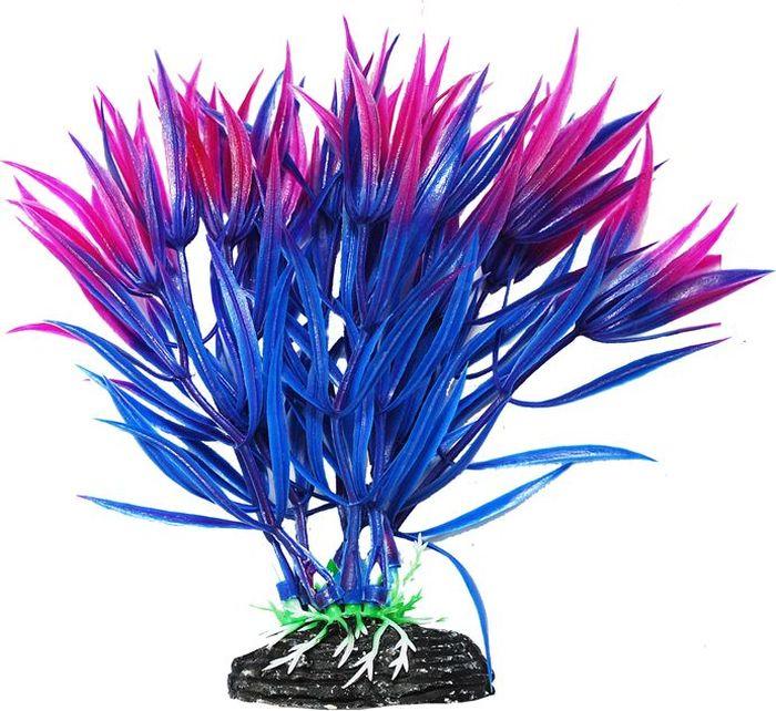 Растение для аквариума Уют Гетерантера сине-фиолетовая, высота 11 см уют