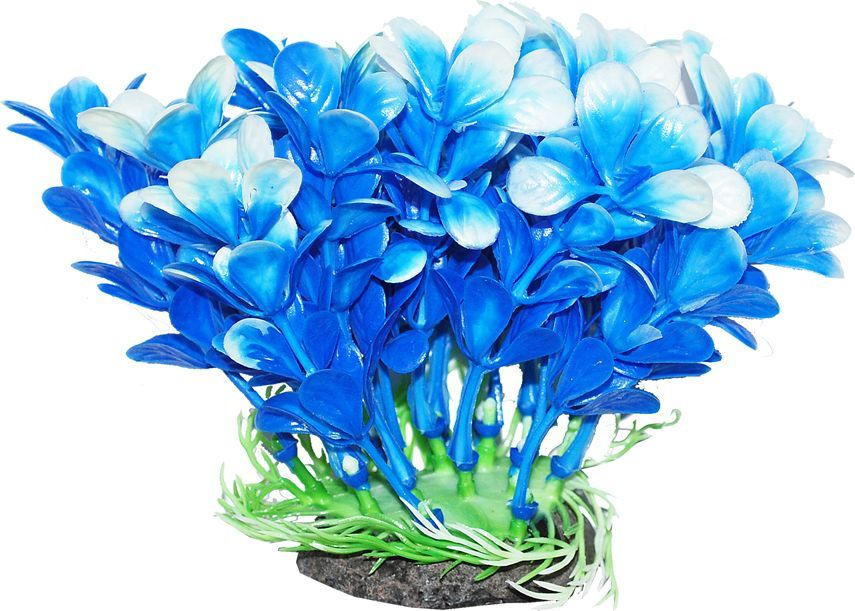 Растение для аквариума Уют Людвигия сине-белая, высота 12 смВК306Пластиковое растение для аквариумаУют Людвигия сине-белая - отличный аксессуар, который украсит ваш домашний аквариум. Изготовлено из искусственных и полимерных материалов. Безопасно для рыб и других аквариумных обитателей.