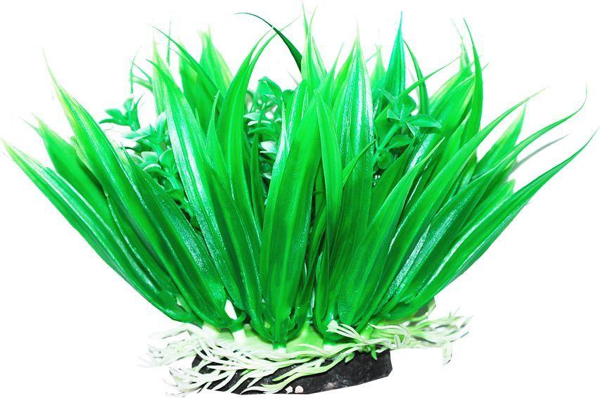 Растение для аквариума Уют Осока, высота 12 см растение еда для рыб 5 букв
