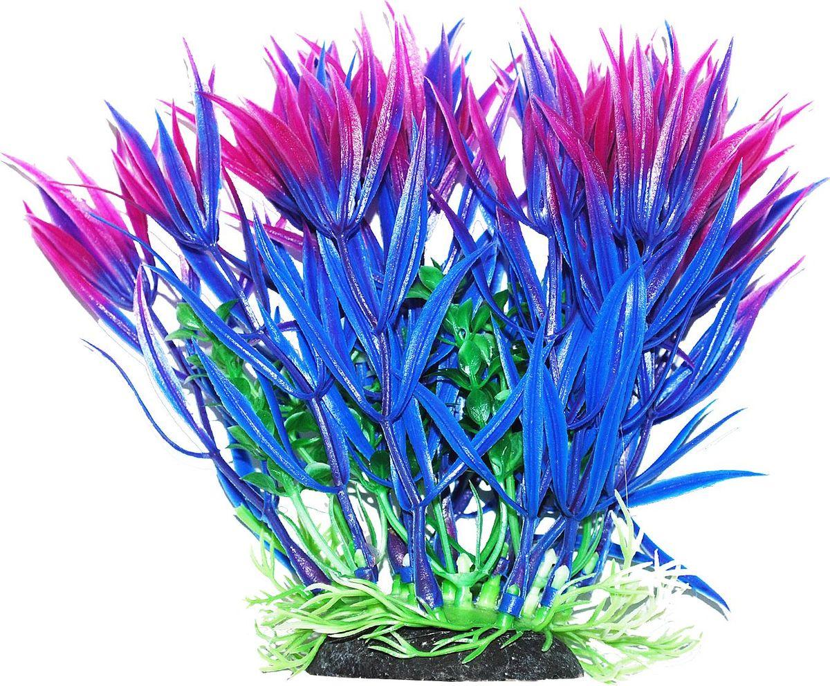 Растение для аквариума Уют Гетерантера сине-фиолетовая, высота 12 смВК317Пластиковое растение для аквариума УЮТ - отличный аксессуар, который украсит ваш домашний аквариум. Изготовлено из искусственных и полимерных материалов. Безопасно для рыб и других аквариумных обитателей.