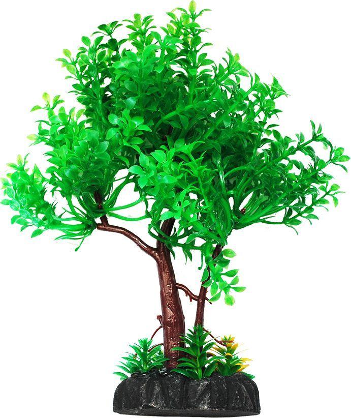 Растение для аквариума Уют дерево зеленое, высота 22 смВК401Пластиковое растение для аквариума УЮТ - отличный аксессуар, который украсит ваш домашний аквариум. Изготовлено из искусственных и полимерных материалов. Безопасно для рыб и других аквариумных обитателей.