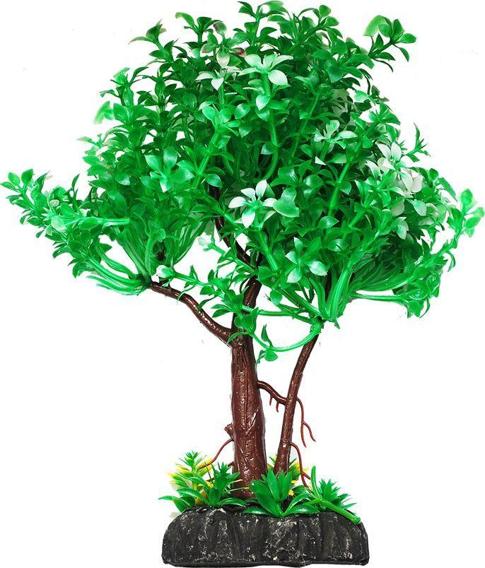 Растение для аквариума Уют дерево зеленое с белым, высота 22 смВК402Пластиковое растение для аквариума Уют Дерево зеленое с белым - отличный аксессуар, который украсит ваш домашний аквариум. Изготовлено из искусственных и полимерных материалов. Безопасно для рыб и других аквариумных обитателей.