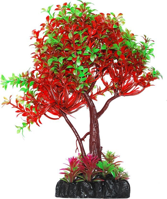Растение для аквариума Уют дерево зелено-красное, высота 22 смВК403Пластиковое растение для аквариума Растение для аквариума Уют Дерево зелено-красное - отличный аксессуар, который украсит ваш домашний аквариум. Изготовлено из искусственных и полимерных материалов. Безопасно для рыб и других аквариумных обитателей.