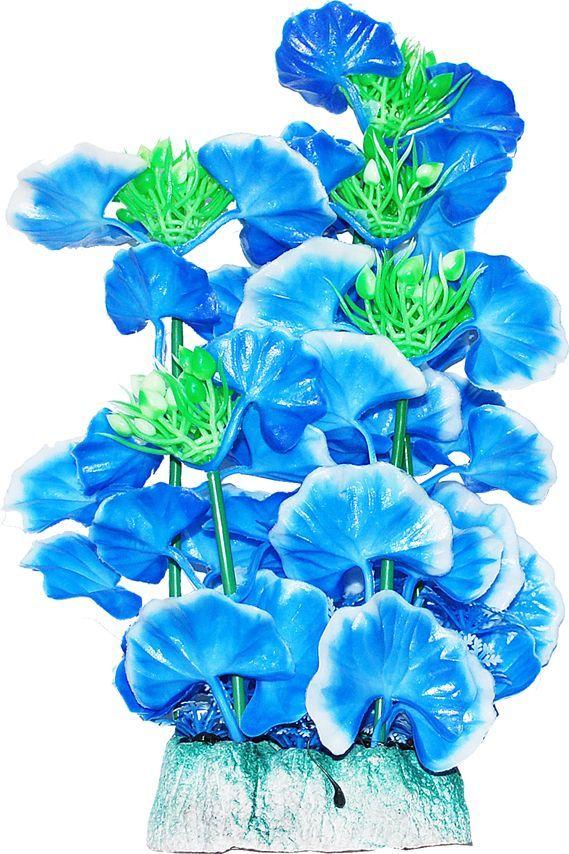 Растение для аквариума Уют голубые цветы, высота 24 смВК504Пластиковое растение для аквариума Уют Голубые цветы - отличный аксессуар, который украсит ваш домашний аквариум. Изготовлено из искусственных и полимерных материалов. Безопасно для рыб и других аквариумных обитателей.