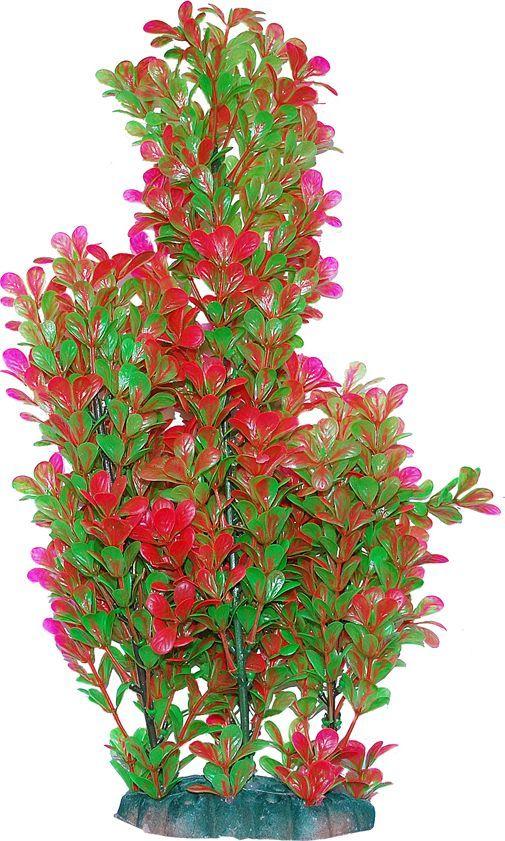 Растение для аквариума Уют Людвигия зелено-красная, высота 44 смВК603Пластиковое растение для аквариума УЮТ - отличный аксессуар, который украсит ваш домашний аквариум. Изготовлено из искусственных и полимерных материалов. Безопасно для рыб и других аквариумных обитателей.