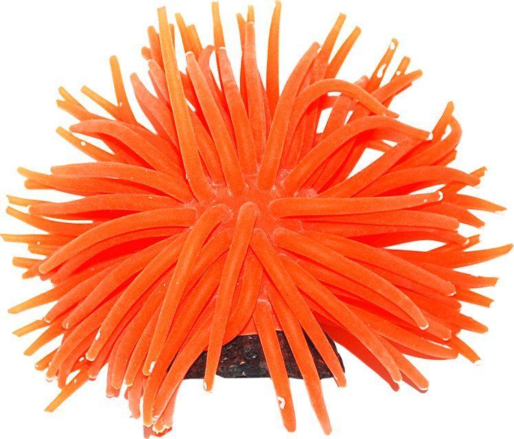 Коралл для аквариума Уют Разноцветные щупальца, силиконовый, высота 10 смВК722Декоративный коралл УЮТ отличный аксессуар, который украсит ваш домашний аквариум.Коралл не наносит вред обитателям аквариума. Изготовлено из искусственных и полимерных материалов