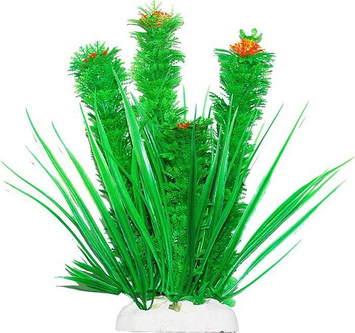 Растение для аквариума Уют Композиция с желтыми цветами, высота 22-24 см уют