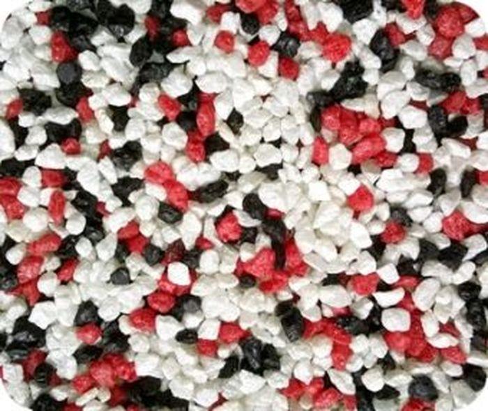 Грунт для аквариума Уют, натуральный, мраморная крошка, цвет: красный, черный, белый, 2-5 мм, 2 кгГУ-29Натуральный грунт УЮТ станет украшением для вашего аквариума.