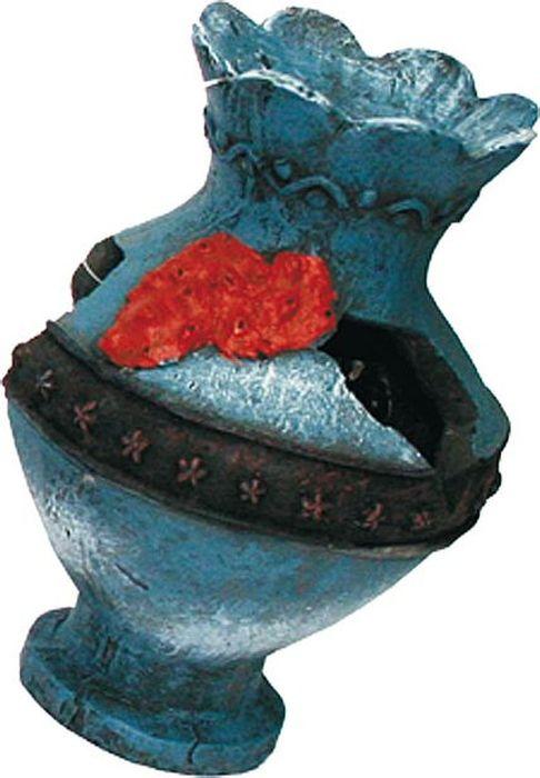 Грот для аквариума №1 Голубая разбитая вазаЕГ004Грот №1 отличный аксессуар, который украсит ваш домашний аквариум.Декорация не наносит вред обитателям аквариума. Изготовлено из искусственных и полимерных материалов