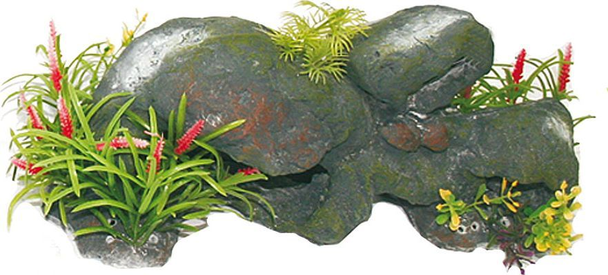 Грот для аквариума №1 Большие камниЕГ015Грот №1 отличный аксессуар, который украсит ваш домашний аквариум.Декорация не наносит вред обитателям аквариума. Изготовлено из искусственных и полимерных материалов