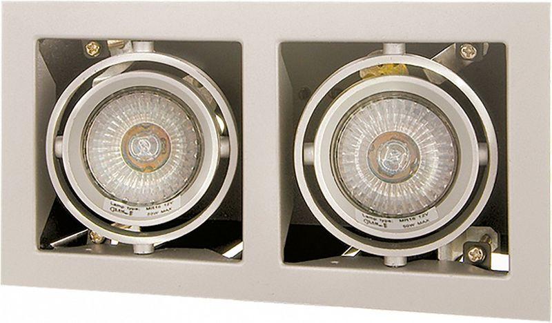 Светильник встраиваемый Lightstar Cardano, 2 х GU5.3, 50W. LS_214027LS_214027Светильник встраиваемый Lightstar Cardano, 2 х GU5.3, 50W. LS_214027