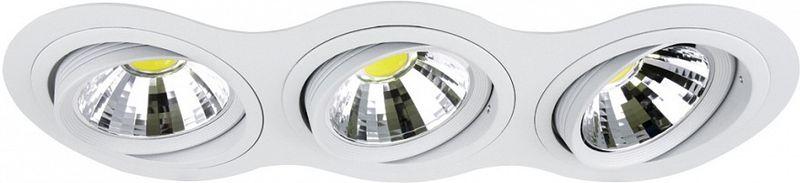 Светильник встраиваемый Lightstar Intero 111, 3 х G53, W. LS_214336LS_214336Светильник встраиваемый Lightstar Intero 111, 3 х G53, W. LS_214336