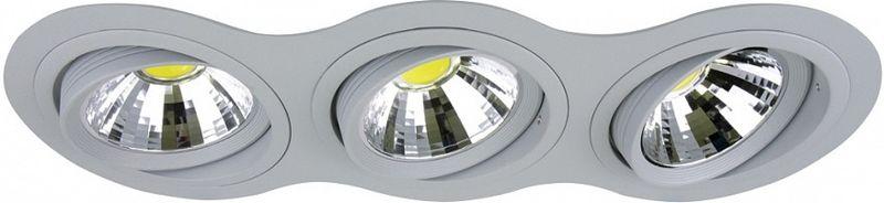Светильник встраиваемый Lightstar, 3 х G53, 50W. LS_214339LS_214339Светильник встраиваемый Lightstar, 3 х G53, 50W. LS_214339