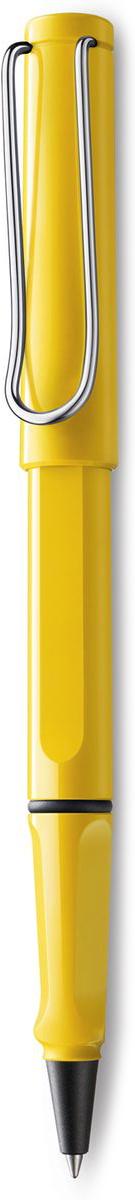 Lamy Safari Ручка-роллер 318 M63 черная цвет корпуса желтый4001115LAMY safari Самая популярная ручка бренда LAMY. Создана в 1980 году в коллаборации с дизайнерами и психологами специально для подростков. Сейчас трудно найти в Европе школу или университет, где не писали бы LAMY safari. В 80-е дизайн этой ручки многим казался немного странным, ни на что непохожим, что, вероятно, и привлекло молодежь, которую уже не устраивал традиционный дизайн обычных ручек. LAMY safari хорошо показала себя в деле: ее эргономика такова, что рука не устает даже от долгого письма. Сейчас этими ручками пишут и рисуют, а также их коллекционируют – помимо широкой гаммы постоянных цветов, каждый год выходит лимитированный выпуск ручек в самом модном цвете. Выполнена из прочного ABS пластика. Эргономичный хват, позволяющий пальцам принять правильное положение при письме. Металлический клип на колпачке напоминает по форме канцелярскую скрепку.Чернильный роллер пишет мягко и почти без нажима - подобно перьевой ручке, но прост в обращении, как шариковая, т.к. при письме чернила подаются на бумагу с помощью шарика на конце стержня. Используется со стержнями LAMY М63. Дизайн: Вольфганг Фабиан История бренда LAMY насчитывает более 80-ти лет, а его философия заключается в слогане Дизайн. Сделано в Германии. Компания получила более 100 самых престижных дизайнерских наград. Все пишущие инструменты LAMY производятся на фабрике в Гейдельберге (Германия).