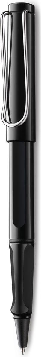 Lamy Safari Ручка-роллер 319 M63 синяя цвет корпуса черный4001118Ручка-роллер Safari из самой популярной линейки бренда Lamy.Ручка выполнена из качественного пластика.На ручке есть металлический клип, который своим внешним видом напоминает скрепку.Ручка идеального размера, что позволяет принять правильное положение пальцев на письме.В ручке-роллере используется стержень Lamy М63.Ручка упакована в подарочную коробку.