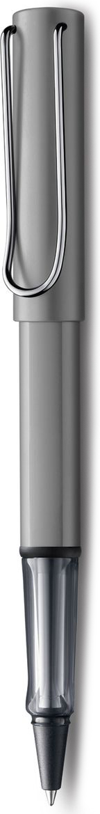 Lamy Al-star Ручка-роллер 326 M63 черная цвет корпуса графит4001133Алюминиевая версия культовой модели LAMY safari под названием LAMY Al-star. Корпус и колпачок из анодированного алюминия. Эргономичный хват, позволяющий пальцам принять правильное положение при письме, изготовлен из прозрачного пластика.Металлический клип на колпачке напоминает по форме канцелярскую скрепку.Чернильный роллер пишет мягко и почти без нажима - подобно перьевой ручке, но прост в обращении, как шариковая, т.к. при письме чернила подаются на бумагу с помощью шарика на конце стержня. Используется со стержнями LAMY М63. Дизайн: Вольфганг Фабиан История бренда LAMY насчитывает более 80-ти лет, а его философия заключается в слогане Дизайн. Сделано в Германии. Компания получила более 100 самых престижных дизайнерских наград. Все пишущие инструменты LAMY производятся на фабрике в Гейдельберге (Германия).