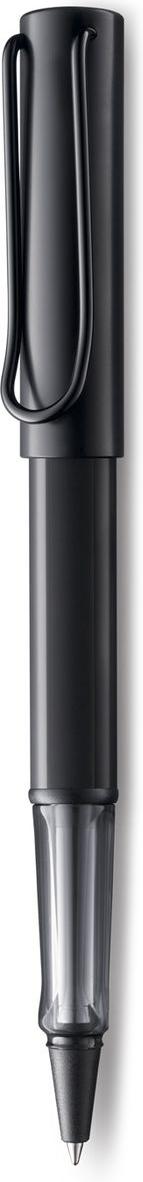 Lamy Al-star Ручка-роллер 371 M63 черная цвет корпуса черный4029807Алюминиевая версия культовой модели LAMY safari под названием LAMY Al-star. Корпус и колпачок из анодированного алюминия. Эргономичный хват, позволяющий пальцам принять правильное положение при письме, изготовлен из прозрачного пластика.Металлический клип на колпачке напоминает по форме канцелярскую скрепку.Чернильный роллер пишет мягко и почти без нажима - подобно перьевой ручке, но прост в обращении, как шариковая, т.к. при письме чернила подаются на бумагу с помощью шарика на конце стержня. Используется со стержнями LAMY М63. Дизайн: Вольфганг Фабиан История бренда LAMY насчитывает более 80-ти лет, а его философия заключается в слогане Дизайн. Сделано в Германии. Компания получила более 100 самых престижных дизайнерских наград. Все пишущие инструменты LAMY производятся на фабрике в Гейдельберге (Германия).