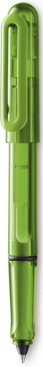 Lamy Balloon Ручка-роллер 311 T11 синяя цвет корпуса зеленый4029789LAMY balloon (311)Чернильный роллер, заправляющийся картриджами с интегрированным пишущим узлом. Прочный и легкий корпус из целлидора – органического пластика, на 45% состоящего из целлюлозы. Кончик пишущего узла картриджа изготовлен из нержавеющей стали, мягкое скольжение которого гарантирует комфортное письмо. Отстирывающиеся чернила. Эргономичный хват с небольшими выемками для правильного положения пальцев при письме. Эластичный клип для крепления к карману или к обложке тетрадей и ежедневников. Прозрачный корпус зеленого цвета. Используется с картриджами LAMY T11 синего цвета Поставляется в подарочной коробке. Дизайн: Вольфганг Фабиан История бренда Lamy насчитывает более 80-ти лет, а его философия заключается в слогане Дизайн. Сделано в Германии. Компания получила более 100 самых престижных дизайнерских наград. Все пишущие инструменты Lamy производятся на фабрике в Гейдельберге (Германия).