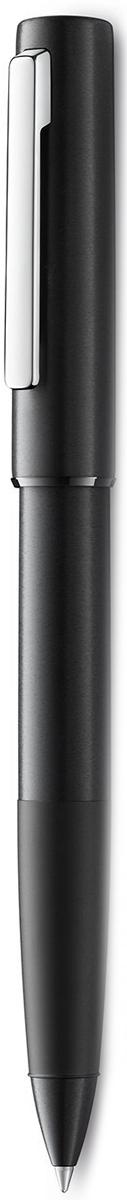 Lamy Aion Ручка-роллер 377 M63 черная цвет корпуса черный4031952LAMY aion black (377)Просто и современно: LAMY aion. Новинка.LAMY расширили свое портфолио новым пишущим инструментом – очень простым и функциональным, содержащим в себя ряд прогрессивных деталей. LAMY aion создан в коллаборации с одним из самых влиятельных современных дизайнеров – британцем Джаспером Моррисоном. Ручки этого модельного ряда обладают гладкой шелковистой поверхностью. LAMY разработали для их изготовления инновативные производственные процессы. Алюминиевые корпус и колпачок - бесшовные. Они формируются методом глубокой вытяжки (deep drawing), поверхность шлифуется, окрашивается и полируется. Секция хвата обрабатывается обжигом и затем анодируется. Матовые и полированные поверхности создают интересный оптический эффект. Блестящий полированный подпружиненный клип довершает облик ручки - минималистичной и функциональной.Чернильный роллер черного цвета. Анодироварованный алюминий, поверхность обработана круговой брашинг-полировкой.Стальное полированное перо нового дизайна.Чернильный роллер пишет мягко и почти без нажима - подобно перьевой ручке, но прост в обращении, как шариковая, т.к. при письме чернила подаются на бумагу с помощью шарика на конце стержня. Используется со стержнями LAMY М63.Комплектация: подарочный футляр, гарантийная карточка, буклет.Дизайн: Джаспер МоррисонИстория бренда LAMY насчитывает более 80-ти лет, а его философия заключается в слогане Дизайн. Сделано в Германии. Компания получила более 100 самых престижных дизайнерских наград. Все пишущие инструменты LAMY производятся на фабрике в Гейдельберге (Германия).