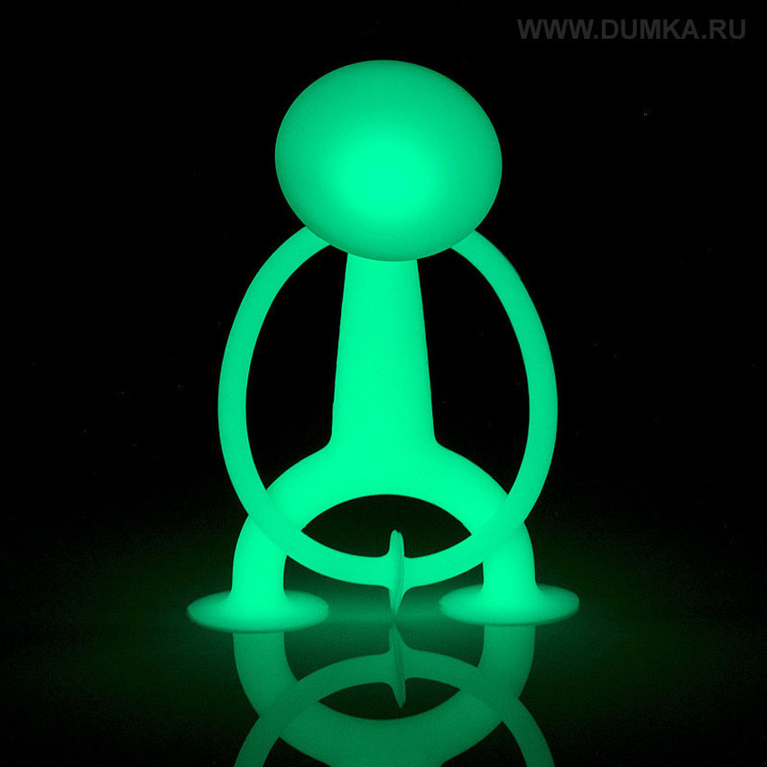 Moluk Фигурка функциональная Уги светящийся в темноте цвет светло-зеленый AP-43110 - Фигурки