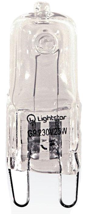 Лампа галогеновая Lightstar, G9, 25W, 3000K, LS_922022LS_922022Лампа галогеновая Lightstar, G9, 25W, 3000K, LS_922022