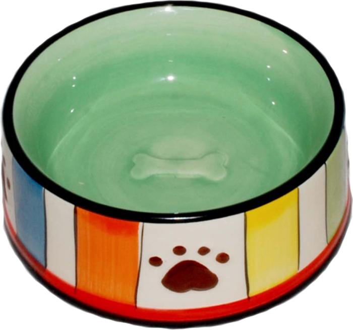 Миска для животных №1 Лапки, 12,5 х 12,5 х 5 смМКР085Керамическая миска для животных. Проста в использовании, гигиенична и долговечна. Антибактериальные свойства. Не впитывает жир и запах. Нетоксична. Рассчитана на длительное активное использование.