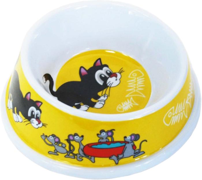 Миска для животных №1 Кошка, 150 млА1012/3Антибактериальные свойства. Не впитывает жир и запах. Нетоксична. Рассчитаны на длительное активное использование. Имеет вид и прочность пластиковой посуды.