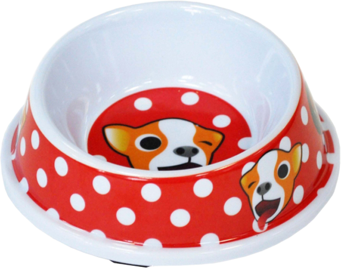 Миска для животных №1 Веселые собачки, 150 мл gipfel миска многофункциональная 24х23х16