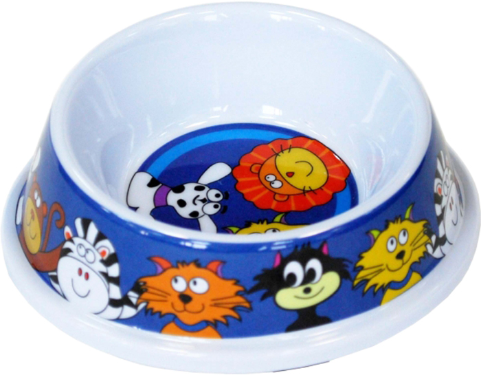 Миска для животных №1 Веселые кошки, 150 млА1012/1Антибактериальные свойства. Не впитывает жир и запах. Нетоксична. Рассчитаны на длительное активное использование. Имеет вид и прочность пластиковой посуды.
