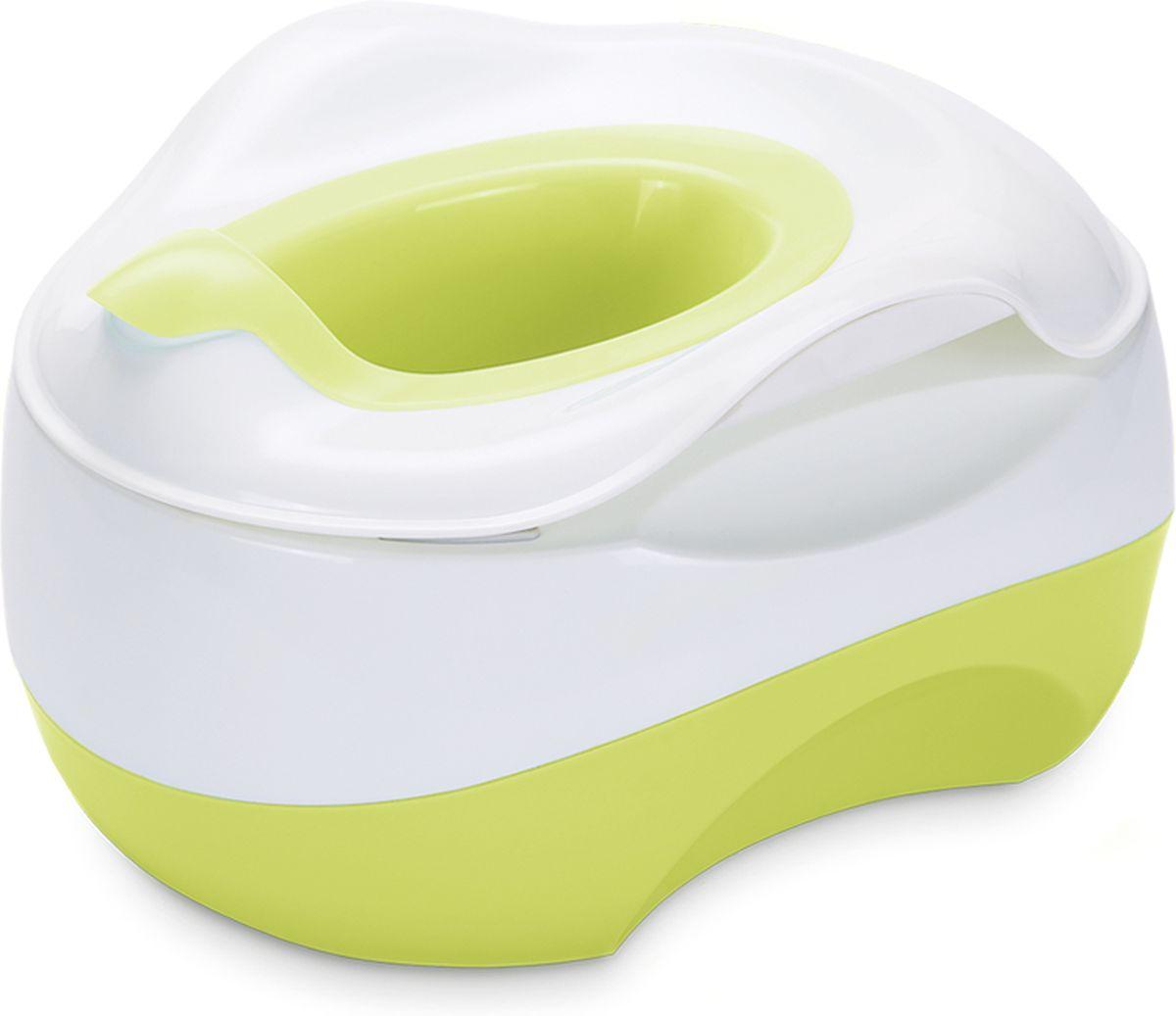 Happy Baby Горшок детский X-Pot цвет зеленый -  Горшки и адаптеры для унитаза
