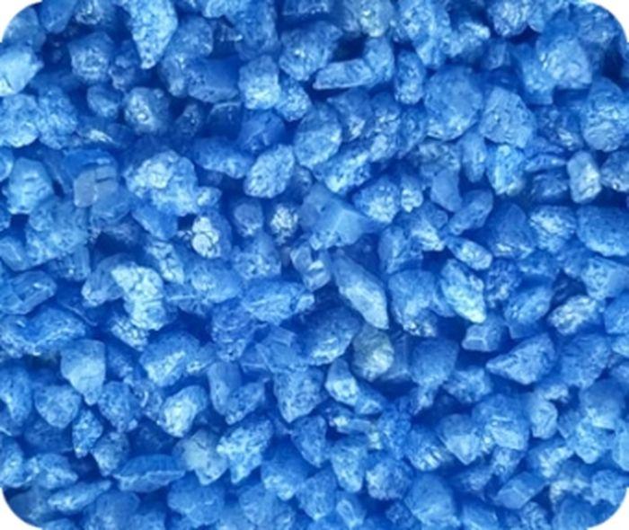 Грунт для аквариума Уют, мраморная крошка, цвет: синий, 5-10 мм, 10 кгГУ-53/10Натуральный грунт УЮТ станет украшением для вашего аквариума.