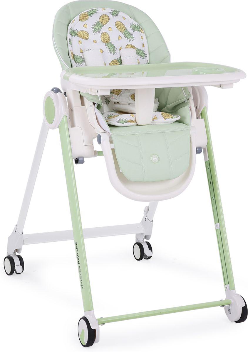 Happy Baby Стульчик для кормления Berny цвет зеленый