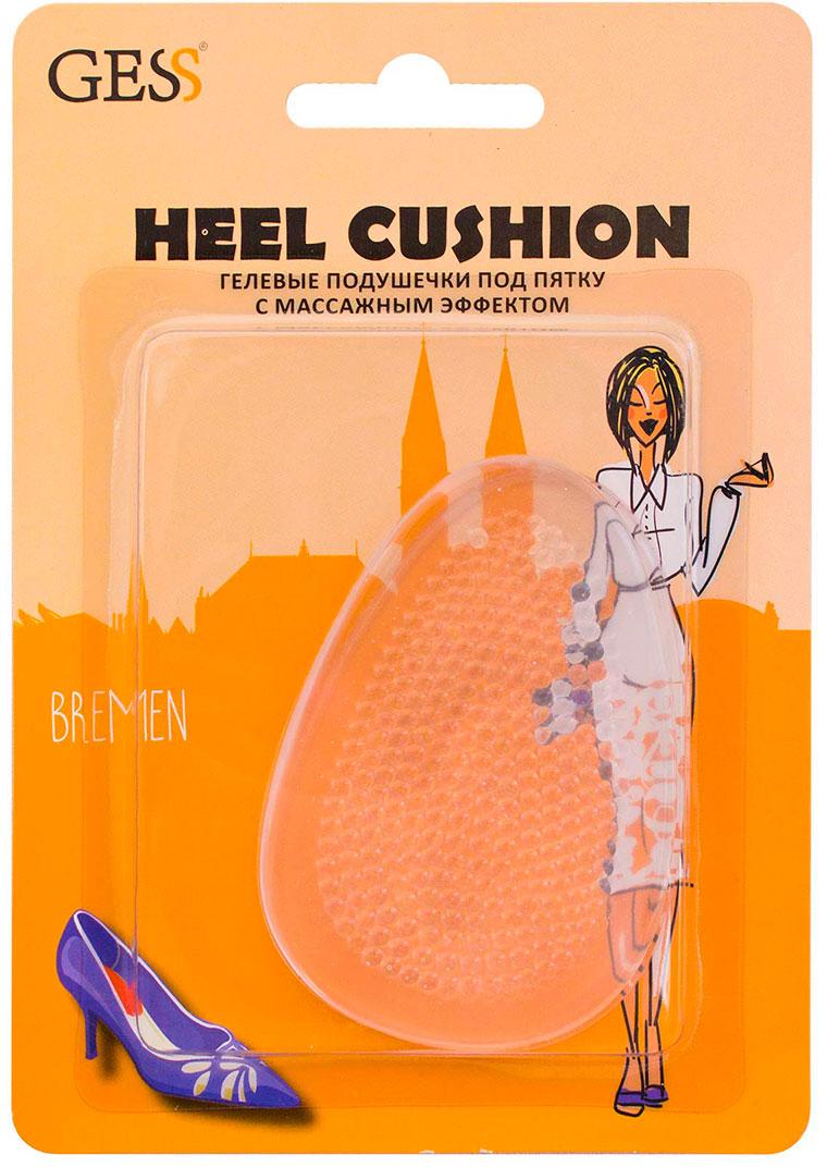 Gess Гелевые подушечки под пятку с массажным эффектом Heel Cushion