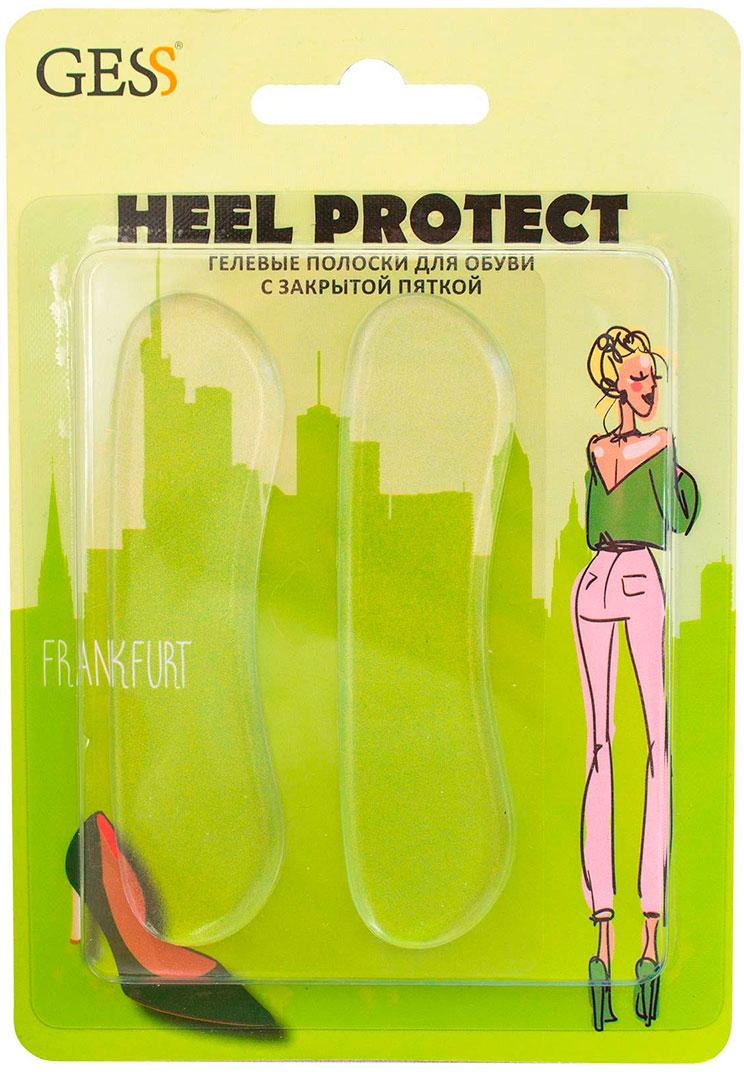 Gess Гелевые полоски для обуви с закрытой пяткой Heel ProtectL102-109