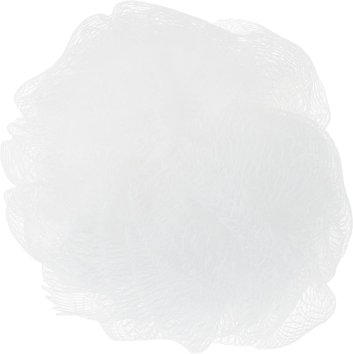 Мочалка-шар Paterra, цвет: белый, 14 см408-061_белыйМочалка-шар Paterra, выполненная из нейлона,подарит чистоту и блаженство вашей коже. Благодаря своей структуре мочалка-шар обеспечивает отличное пенообразование, тем самым экономя средства для душа.