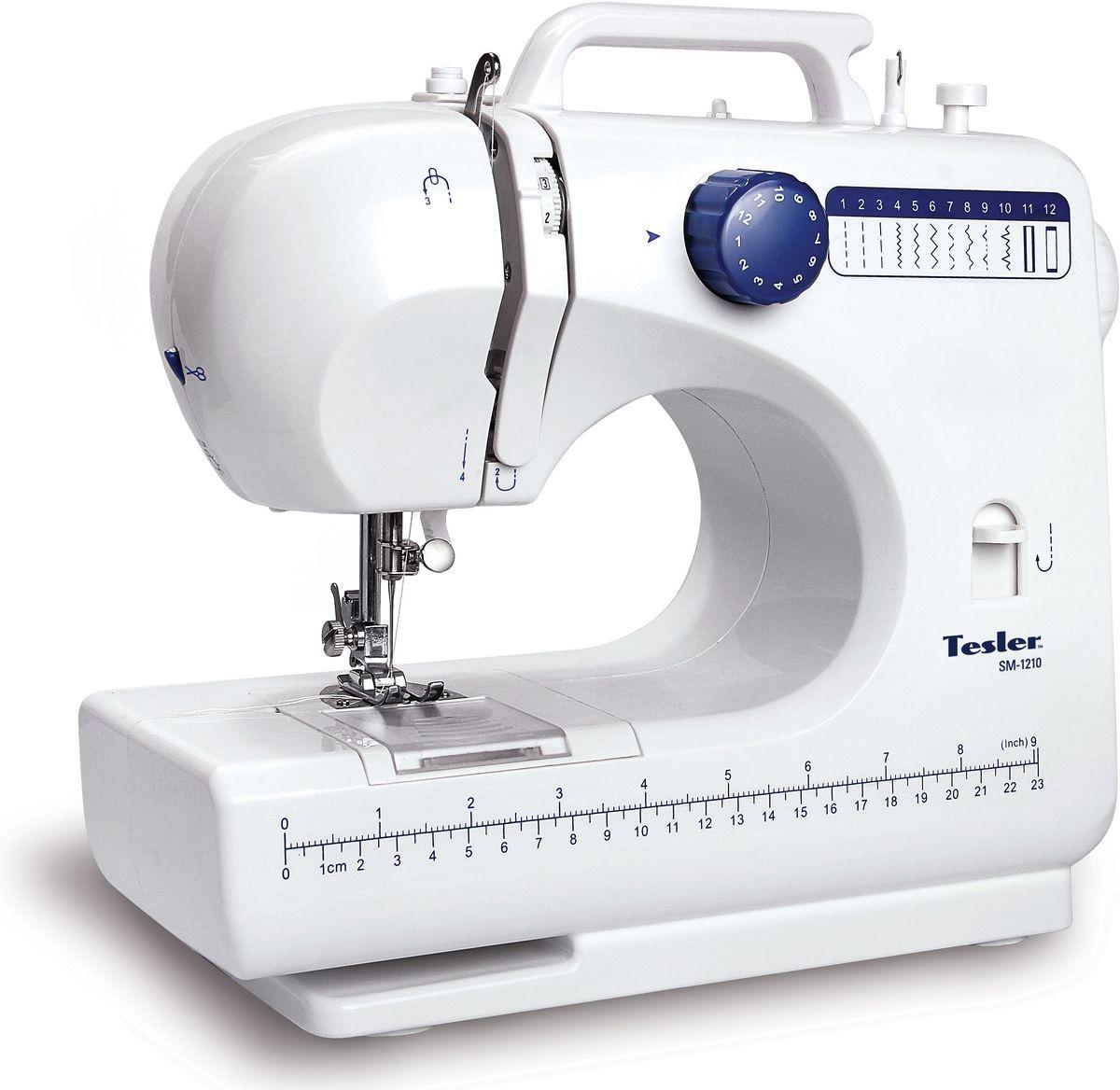Tesler SM-1210, White швейная машинка