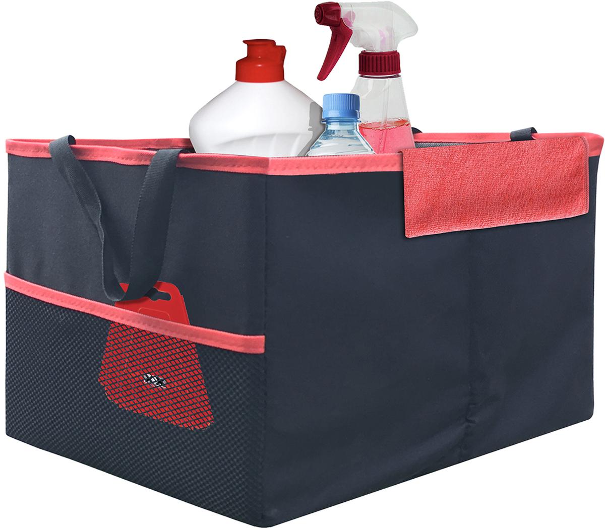 Органайзер складной в багажник Rexxon, 40 х 30 х 25 см органайзеры в багажник autoprofi органайзер в багажник travel org 30 bk