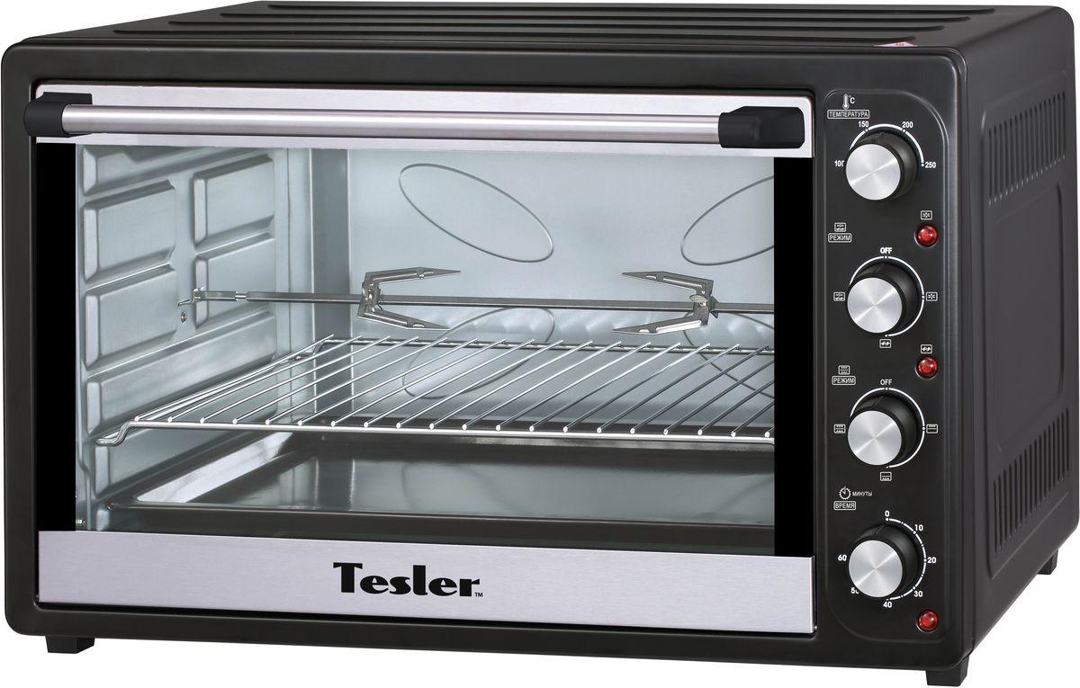 Tesler EOGC-8000, Black мини-печьEOGC-8000 BLACKМодельный ряд мини печей Tesler подобран так, что бы удовлетворить максимально требования современного покупателя. Наши модели идеально подходят для любой кухни квартиры, загородного дома или дачи. Прибор безопасен в использовании, поскольку модель оснащена защитой от перегрева. Функция гриля, вращаемого электрическим двигателем, делает нашу мини печь незаменимой в любом доме. В комплект устройства входят: эмалевый поддон, круглый противень для пиццы,решетку, вертел для гриля, ручкудля удержания вертела, рукояткудля поддона.