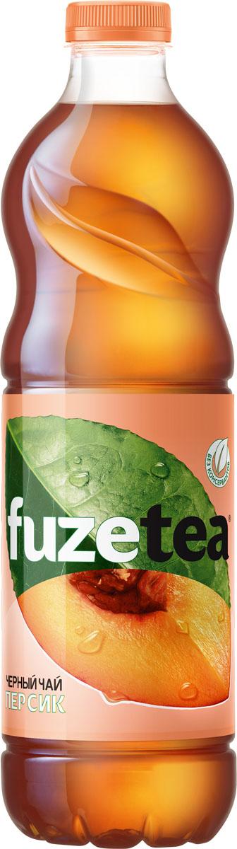 Fuzetea Персик черный чай, 1,5 л fuzetea клубника малина зеленый чай 1 5 л