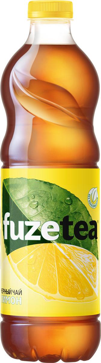 Fuzetea Лимон черный чай, 1,5 л fuzetea клубника малина зеленый чай 1 5 л