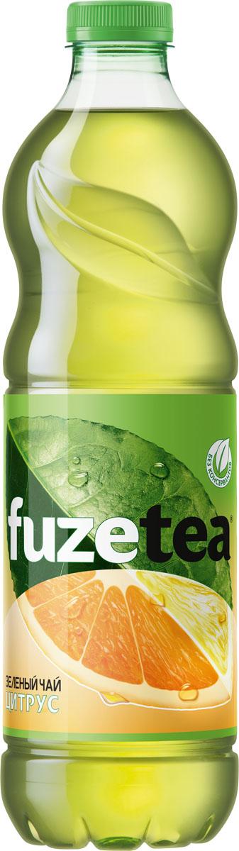 Fuzetea Зеленый цитрус зеленый чай, 1,5 л fuzetea клубника малина зеленый чай 1 5 л