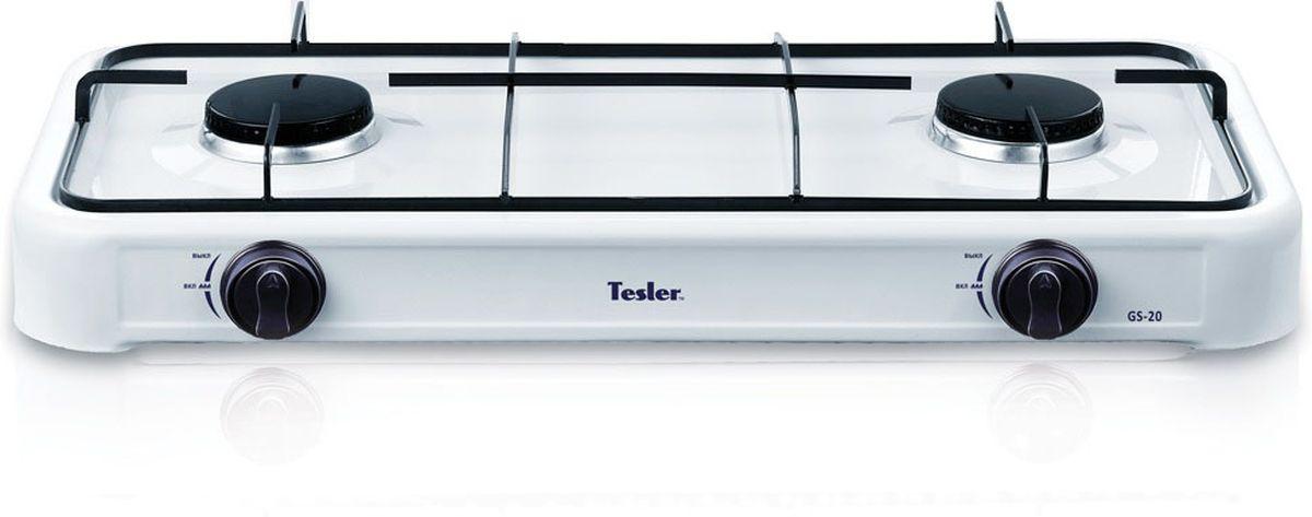 Tesler GS-20, White плитка газовая - Настольные плиты